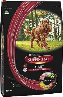 Supercoat Adult Dog Food, Beef, 12kg