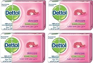 Dettol Skin Care Anti-bacterial Bar Soap 120gm (2+2)