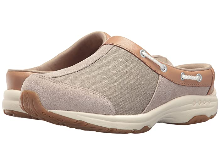 Easy Spirit Travelport (Natural) Women's Slip on  Shoes