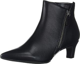 حذاء برقبة للكاحل للسيدات من سيفن دايالز، أسود، مقاس 6.5 متوسط أمريكي