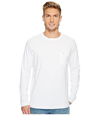 Tommy Bahama New Bali Skyline Long Sleeve T-Shirt (White) Men