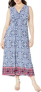 Sponsored Ad - Catherines Women's Plus Size Visionary Twist-Knot Maxi Dress