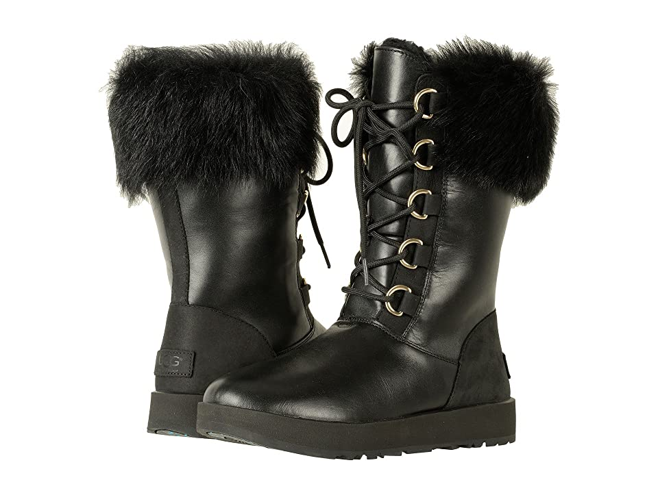 UGG Aya Waterproof (Black) Women