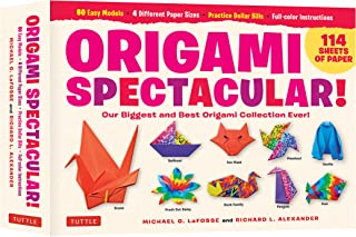 Origami Spectacular Kit: Our Biggest and Best Origami Collection Ever! (114 Sheets of Paper; 60 Easy Projects to Fold; 4 D...
