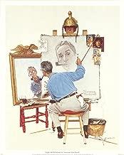 Norman Rockwell Triple Self-Portrait 15