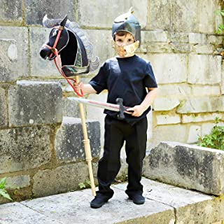 amscan HHK Hobby Horse with Knight Helmet and Sword-One Size-1 Pc