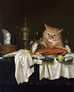 Ranefe Jigsaw Puzzles 1000 Pieces for Adults, Classic Oil Paintings Puzzles for Adults 1000 Piece Cats Cheap Funny Beautif...