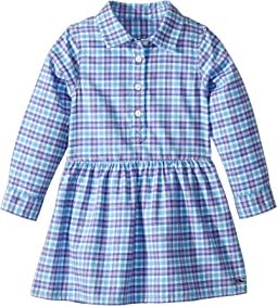 Morgan Way Flannel Dress (Toddler/Little Kids/Big Kids)