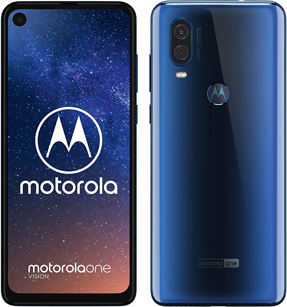 motorola one vision dual sim, 128gb android 9 pie pafb0003de