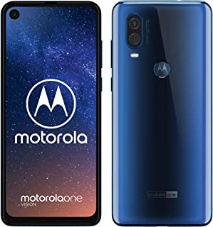 Lenovo Motorola One Vision Dual-SIM XT1970 128GB Android Factory Unlocked 4G/LTE Smartphone - International Version