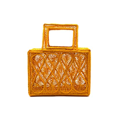 KAANAS Ponedera Rectangle Satchel (Marigold) Handbags