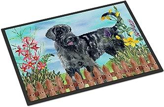 Caroline's Treasures Giant Schnauzer Spring Doormat-Parent, Multicolor, 18H X 27W