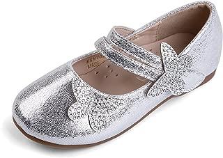 Mary Jane Bailarina Zapatos Planos Vestir Fiesta de Formal Princesa Zapatos para Niñas Primavera Verano Zapatos COMUNIÓN Zapatos