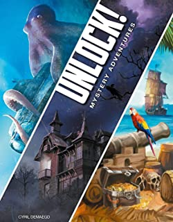 Space Cowboys ASMSCUNLOCK02EN Unlock 2 Mystery Adventures Game, English