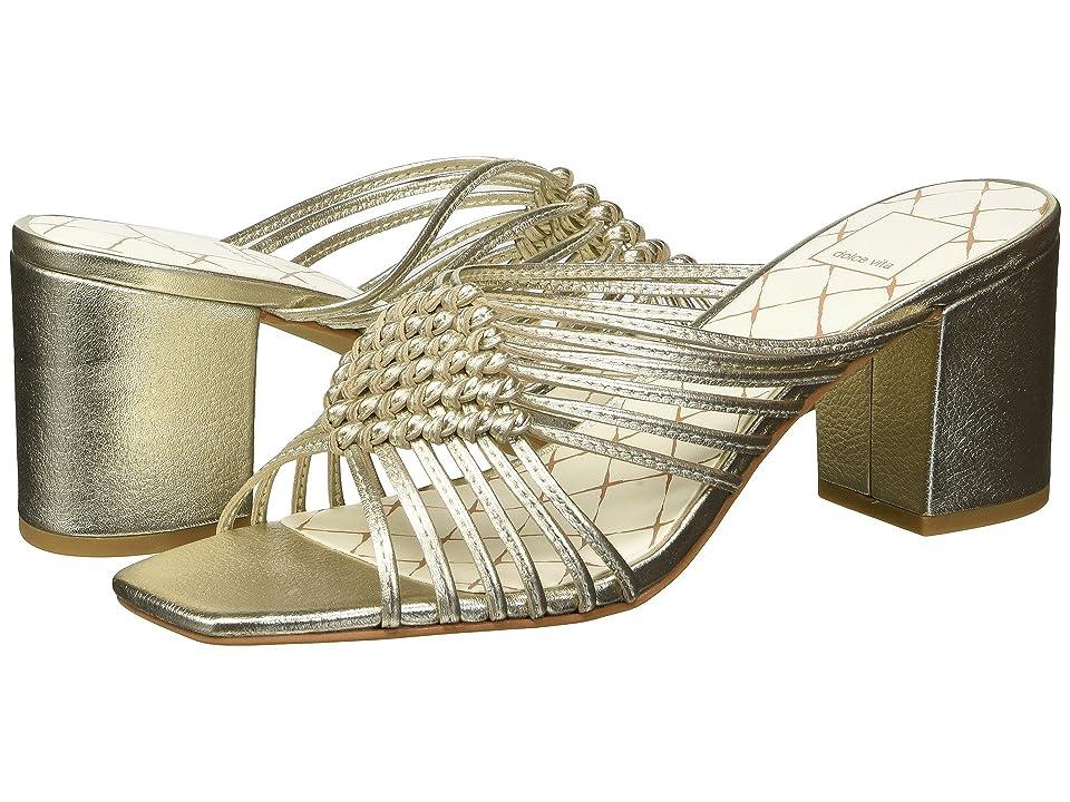 Dolce Vita Delana (Light Gold Leather) Women