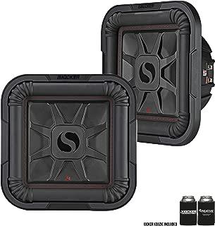 2 Kicker 46L7T102 Car Audio L7T Shallow Mount 10