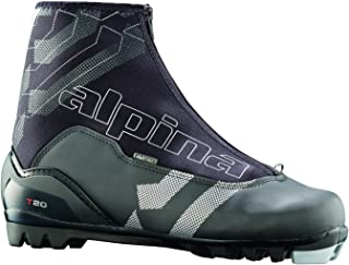 Alpina T20 Cross-Country Nordic Touring Ski Boots with Zippered Lace Cover