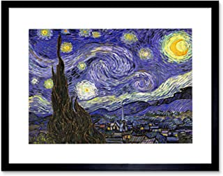 Vincent Van Gogh Starry Night Old Master Painting Art Framed Art Print F12X1627
