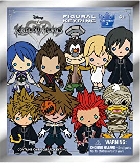 Disney Kingdom Hearts Series 3-3D Collectible Key Ring Blind Bag Key Accessory