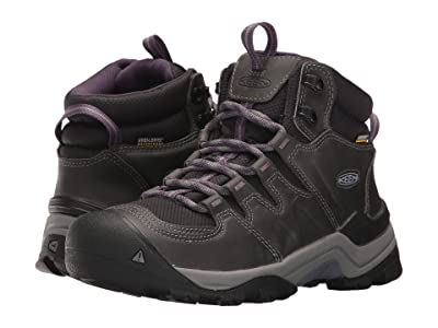 Keen Gypsum II Mid Waterproof (Earl Grey/Purple Plumeria) Women