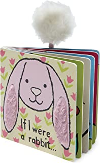 Jellycat Baby Touch and Feel Board Books, If I Were a Rabbit