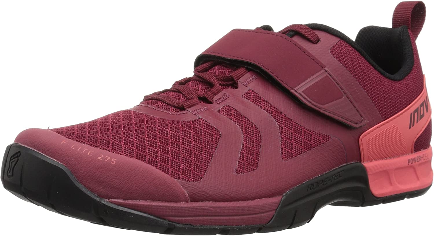 Inov-8 Womens F-Lite 275 Fabric Low Top Lace up Running Sneaker