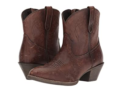 Ariat Darlin (Naturally Distressed Brown) Cowboy Boots