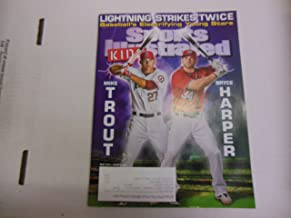 Sports Illustrated Magazine Mike Trout Bryce Harper May 2013