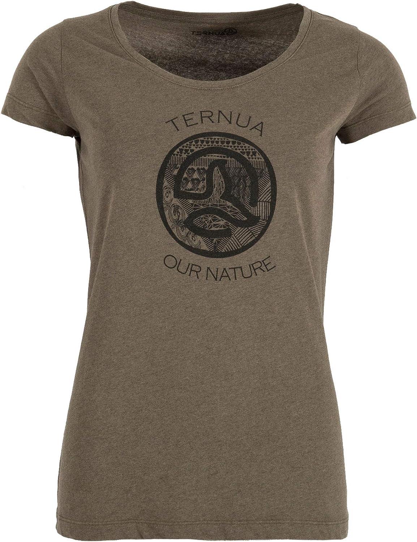 Ternua /® Kanya 1//2 Zip W Camiseta Mujer