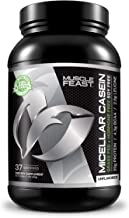 Sponsored Ad - MUSCLE FEAST Grass Fed Micellar Casein, All Natural, Hormone Free, Slow Digesting, 100% Pure, 20g Protein, ...