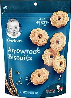 Gerber Arrowroot Cookies Pouch, 5.5 Ounce
