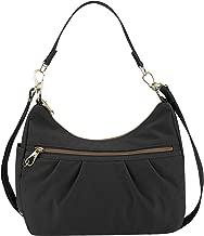 Travelon Anti-theft Signature Hobo Bag, Black