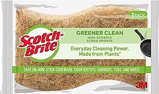 Scotch-Brite Greener Clean Non-Scratch Scrub Sponges, 12 Scrub Sponges