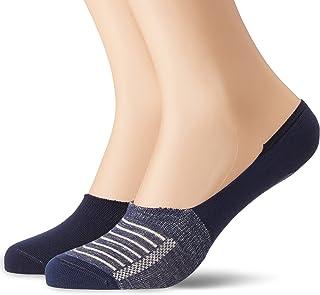 LEVIS 168SF LOW RISE VINTAGE STRIPE Calcetines cortos, Azul (mid denim 824), 39/42 EU (Pack de 2) para Hombre