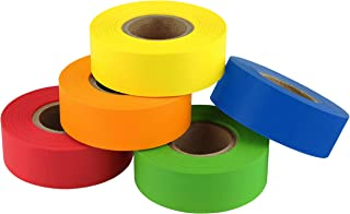 ChromaLabel Color-Code Labeling Tape Variety Pack | 5 Assorted Colors | 500 inch Rolls (3/4 inch)