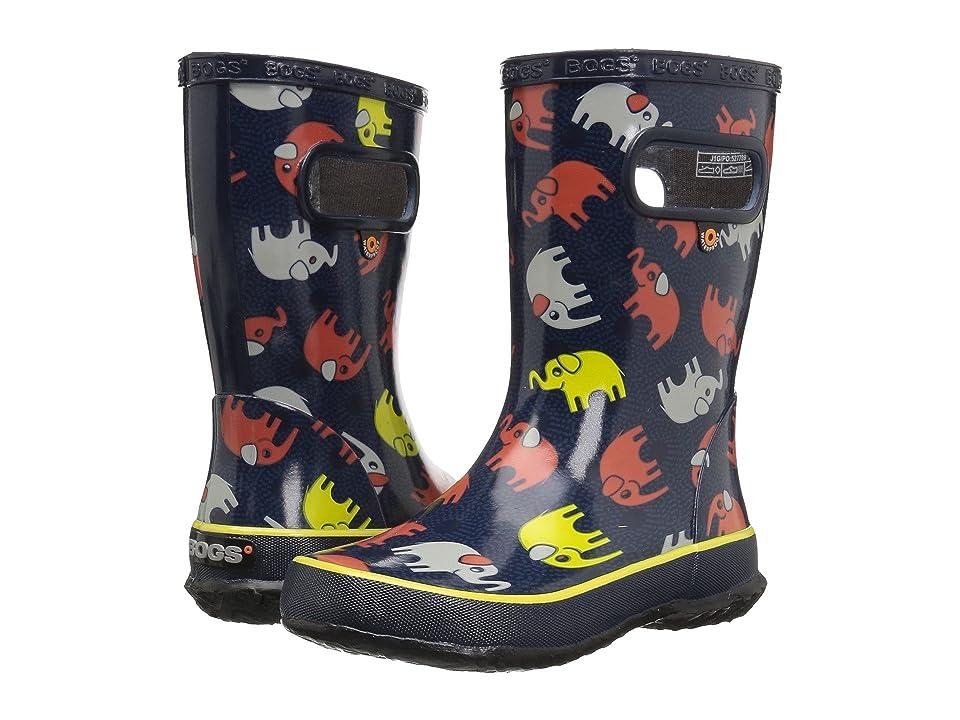 Bogs Kids Skipper Elephants (Toddler/Little Kid) (Dark Blue Multi) Girls Shoes