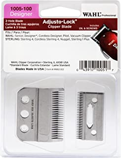Wahl Professional Adjusto-Lock Designer Clipper Blade - 1005-100 - Great for Professional Stylists and Barbers