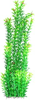 Tacobear Artificial Plastic Plant Green Aquarium Fish Tank Underwater Plant 20 inch Aquatic Plants