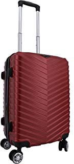 37.0 L Spacewalker Arrow Spinner 4 roulettes Extensible Bagage Cabine Bordeaux 55 cm