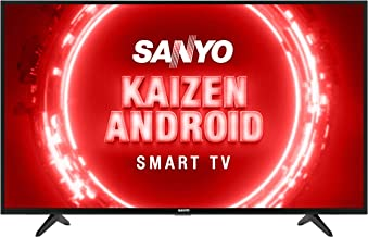 Sanyo 108 cm 43 inches Kaizen Series Full HD Certified Android LED TV XT 43FHD4S Black 2020 Model