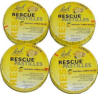 Bach Rescue Lemon Pastilles Pack of 4