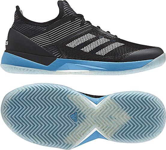 Adidas Adizero Ubersonic 3 W Clay, Chaussures de Fitness Femme, MultiCouleure (Negbás FTW Bla Ciasho 000), 36 EU
