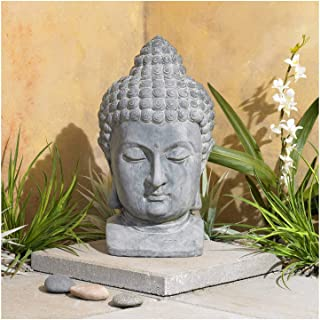 John Timberland Meditating Buddha Head 18 1/2