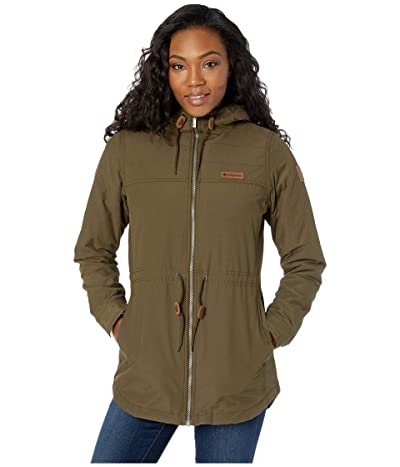 Columbia Chatfield Hilltm Jacket (Olive Green/Chalk Sherpa) Women