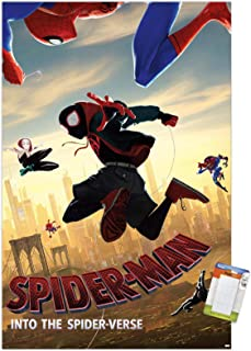 Trends International Marvel Comics Movie Man: Enter The Spider-Verse-Dive Mount Wall Poster, 22.375
