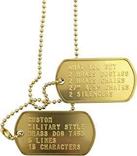 custom air force dog tags