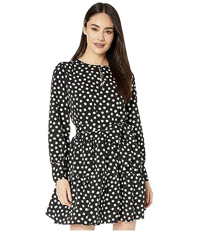 Kate Spade New York Cloud Dot Dress (Black) Women