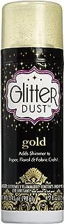 Therm O Web Glitter Dust Aerosol Spray 4.2oz, Gold