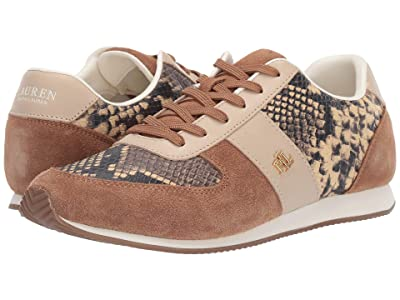 LAUREN Ralph Lauren Cate IV (Tan Multi) Women