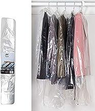 100PCS Plastic Clothes Packing Bags Transparent Garment Packing Bag Clothes Spor